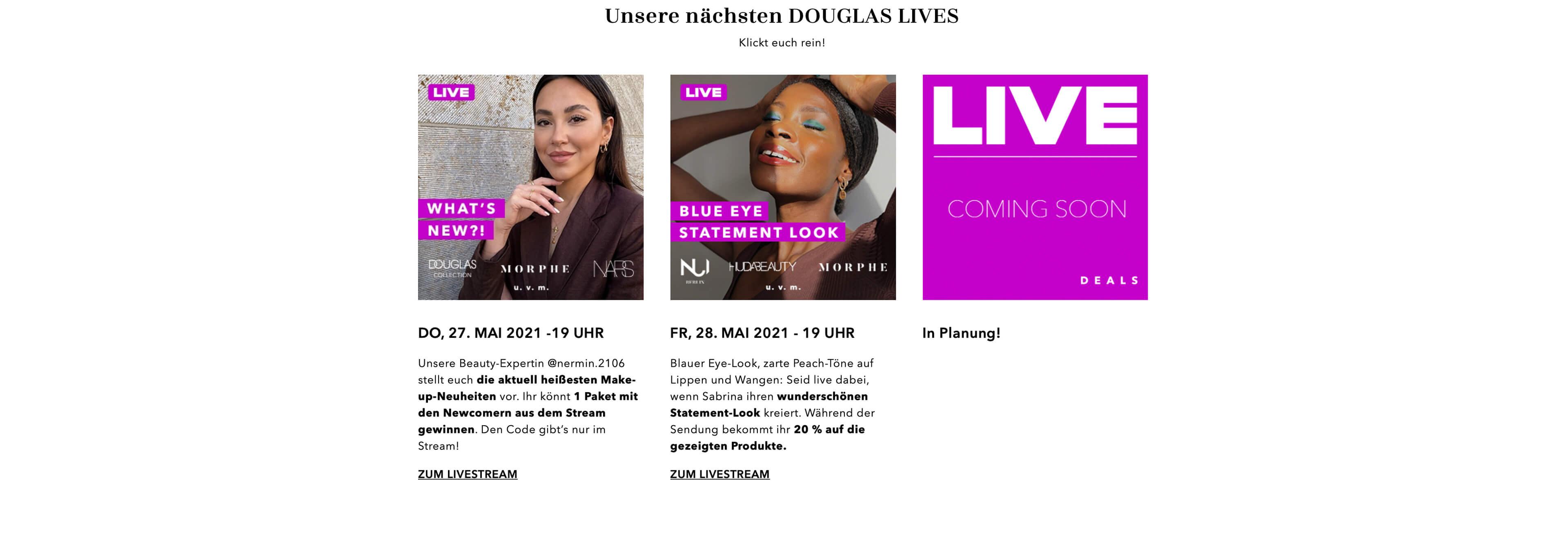 Douglas Live